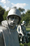 pamiątkowi koreańskich weteranów wojennych zdjęcie royalty free