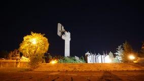 Pamiątkowi powikłani Stara Zagora obrońcy 1877, Bułgaria Ja obraz stock