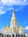 Pamiątkowy kościół Wszystkie święty w Minsk Obraz Royalty Free