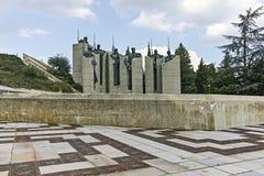 Pamiątkowy kompleks obrońcy Stara Zagora, Bułgaria zdjęcia stock