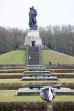 Pamiątkowy kompleks Radziecki oswobodziciela żołnierz w Treptow Pa Obraz Stock