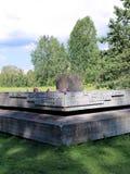 Pamiątkowy kompleks w Khatyn Zdjęcia Royalty Free