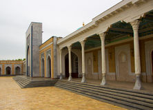 Pamiątkowy Powikłany mauzoleum w Samarkand, republika Uzbekistan, Zdjęcie Royalty Free