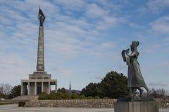 Pamiątkowy Slavin, Bratislava, Sistani obraz royalty free