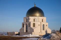 Pamiątkowy znak Tatarstan Federacja Rosyjska Bułgarskiego stanu dziejowa i architektoniczna rezerwa zdjęcia royalty free