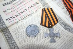 Pamięć krwista pierwszy wojna światowa 1914 zdjęcia royalty free