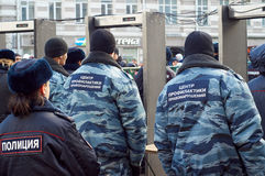 Pamięć marsz zabijający polityk Boris Nemtsov Obraz Stock