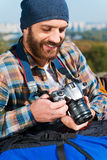 Pamiętający całość wycieczki Fotografia Stock