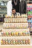 Pamiątkarscy sklepy w Jordania Obrazy Royalty Free