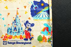 Pamiątkarska papierowej torby scena Obraz Royalty Free