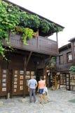 Pamiątkarski sklep w Nessebar Zdjęcie Royalty Free