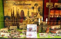 Pamiątki - Barcelona Obrazy Stock