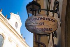 Pamiątki Prague Zdjęcie Royalty Free