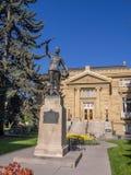 Pamiątkowa biblioteka publiczna na Czerwu 5, 2016 w Calgary Obraz Royalty Free