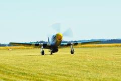 Pamiątkowy Airshow WW II P51 Randolph mustang Fotografia Stock
