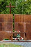 Pamiątkowy Katyn Rosja, Smolensk (, region) Zdjęcie Royalty Free