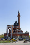 Pamiątkowy meczet na Poklonnaya Gora, Kwietniu -, 27, 2014. Constructe Obraz Royalty Free