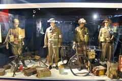 Pamiątkowy muzeum bitwa Normandy. Zdjęcia Stock