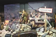 Pamiątkowy muzeum bitwa Normandy. Zdjęcia Royalty Free