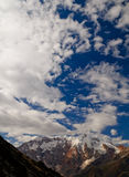 Pamir mountains. Middle Asia, glacier Stock Photos