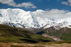 Pamir mountains - Kyrgyzstan. Pamir mountains - roof of the world - Kyrgyzstan Stock Images
