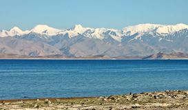 Pamir mountains Royalty Free Stock Photo