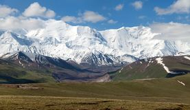 Pamir mountains - roof of the world - Kyrgyzstan Royalty Free Stock Image