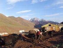 Pamir Mountains, Tajikistan Stock Photos