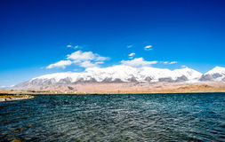 The pamir plateau in Xinjiang,China Royalty Free Stock Photography
