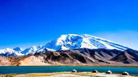 The pamir plateau in Xinjiang,China Stock Images