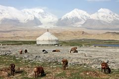 Pamir travel adventures Stock Photography