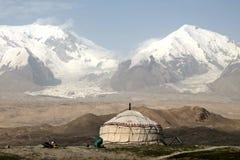 Pamir travel adventures royalty free stock image