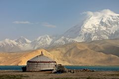 Pamir travel adventures Stock Images