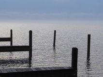 Pamlico in silver and blue Royalty Free Stock Photo