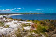 Pamlico Sound on an October Afternoon royalty free stock photo
