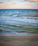 Pamorama di bella vista sul mare Fotografia Stock Libera da Diritti