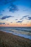 Pamorama di bella vista sul mare Fotografie Stock