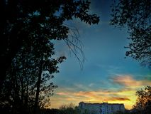 Pamoramic Ansicht Lizenzfreies Stockbild