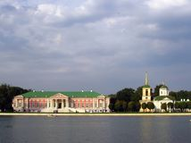 Pamorana парка Kuskovo в Москве Стоковая Фотография RF