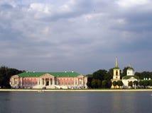 Pamorana av Kuskovo parkerar i Moskva Royaltyfri Fotografi