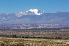 Pampa El Leoncito National Park with the Aconcagua, Argentina Royalty Free Stock Photo