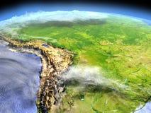 Pampa od przestrzeni ilustracja wektor