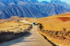 Pampa peruviana Fotografia Stock Libera da Diritti