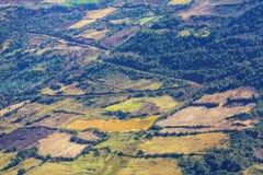 Pampa peruviana Fotografie Stock