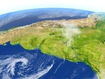 Pampa sur terre de planète Photographie stock libre de droits