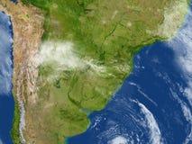 Pampa sur terre de planète Photo libre de droits