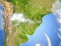 Pampa sur terre de planète Images stock