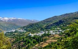 Pampaneira and Capileira Villages Stock Photos