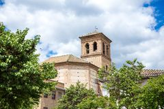 Pampaneira church royalty free stock photography
