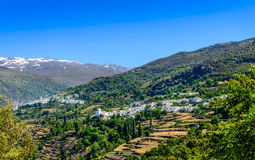 Pampaneira i Capileira wioski Zdjęcia Stock